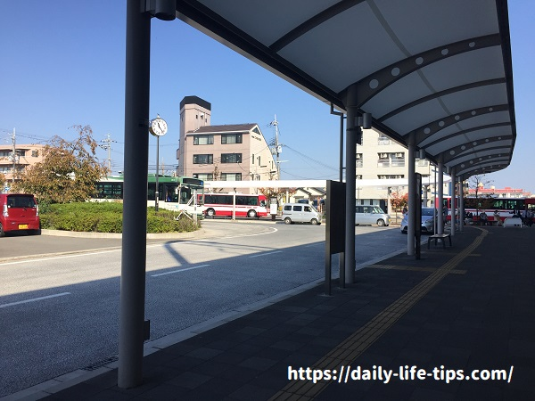 淀駅バスターミナル