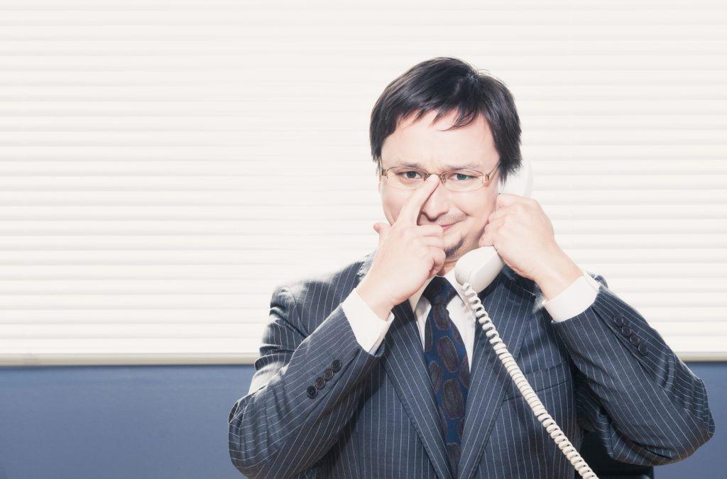 勧誘の電話