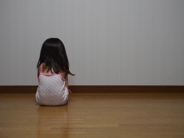 子供の背中